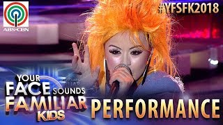 Your Face Sounds Familiar Kids 2018: Esang De Torres as Cyndi Lauper | True Colors