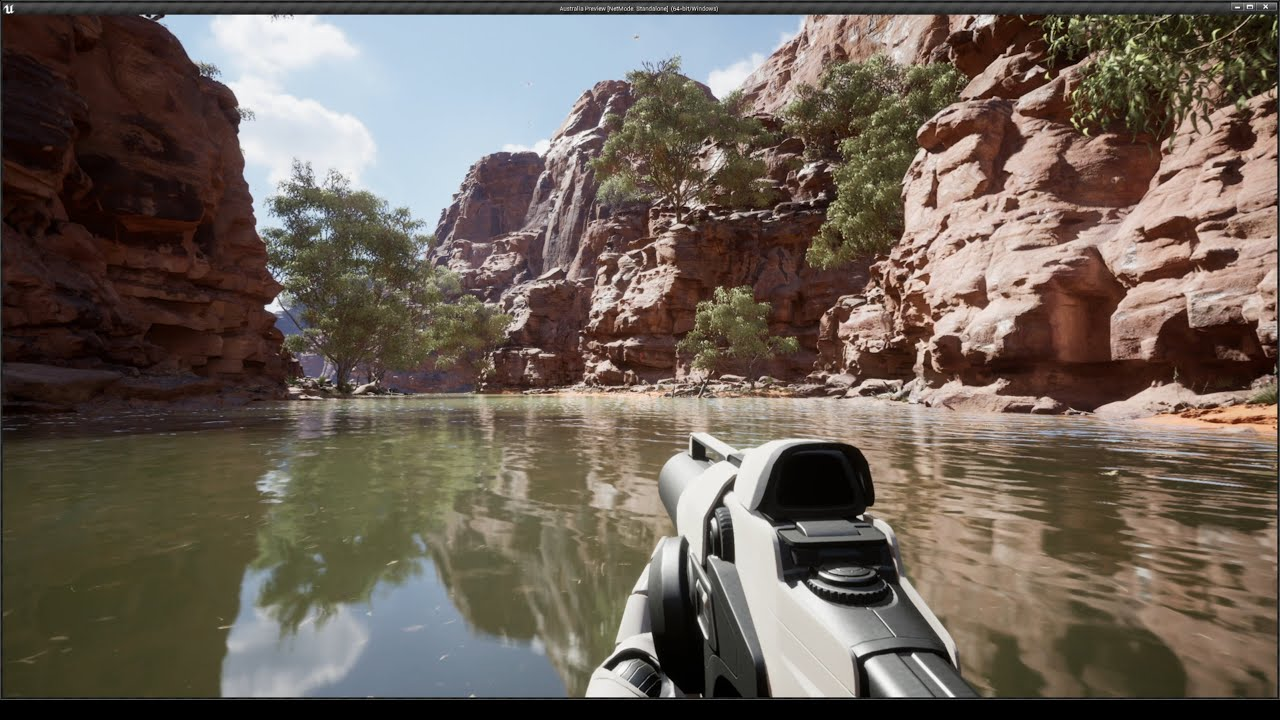 Download Unreal Engine 4 RTX 3090 Realistic Australia