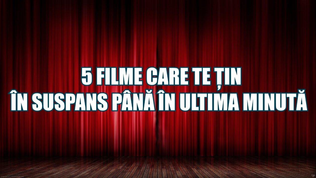 5 FILME CARE TE ȚIN ÎN SUSPANS PÂNĂ ÎN ULTIMA MINUTĂ!