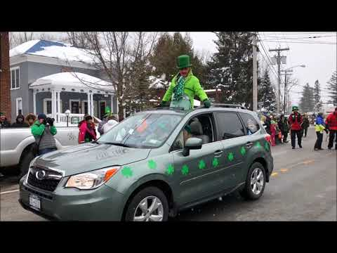 A small town celebrates in a big way: The St. Patrick's Day Parade in Old Forge NY