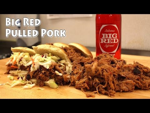 BBQ Pulled Pork Recipe with Big Red Soda - Big Red Pulled Pork