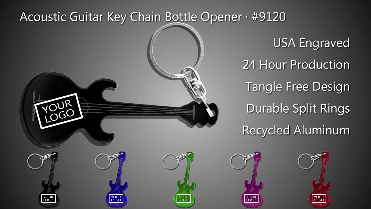 Engraved Post Letter Opener Acoustic Guitar