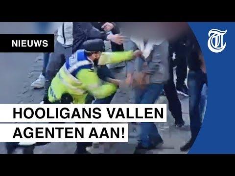 Bizarre beelden Ajax-rellen vrijgegeven