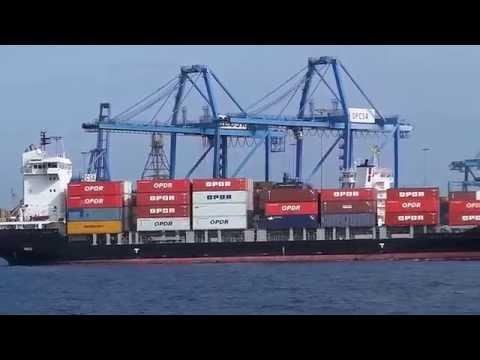 Puerto Las Palmas Panomio Container vessel