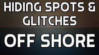 MW3: Hiding Spots + Glitches on Off Shore