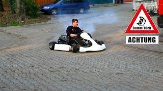 125 ccm Go-Kart - Probefahrt | Dumm Tüch