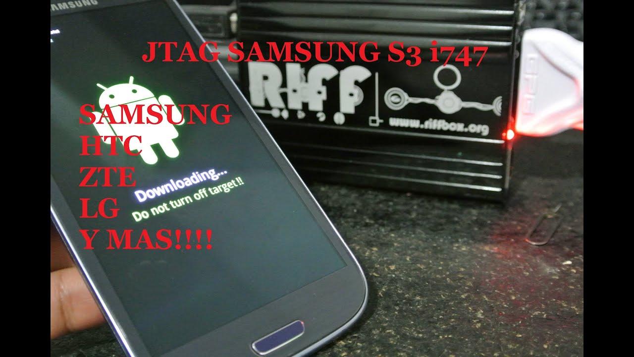 Galaxy S3 i747 Hard Bricked Servico JTAG RIFFBOX