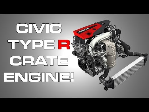 SEMA 2017: Honda Civic Type R Crate Engine!