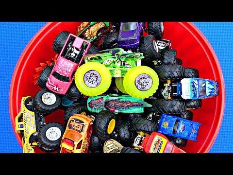 monster-trucks-for-kids-#4-|-learn-monster-truck-names-&-colors-|-fun-&-educational-organic-learning
