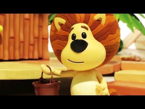 Raa Raa The Noisy Lion | Clangy Bangy Crocky | English Full Episodes | Cartoon For Kids🦁