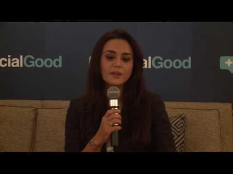 A Conversation: Jackie Aina & Preity Zinta 2016 Social Good Master Class