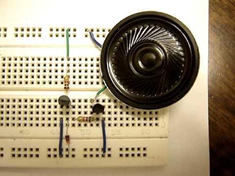 Sound generator using UM66 musical IC- www.buildcircuit.com