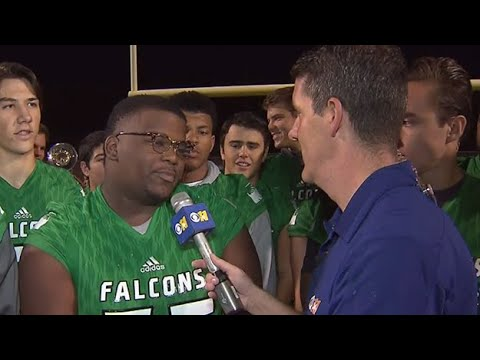 Lake Dallas High School Football Team Takes Center Stage