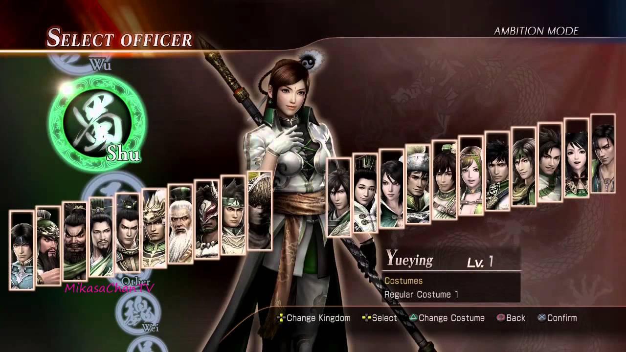 Dynasty Warriors 8: Xtreme Legends Cheats, Codes, Cheat ...