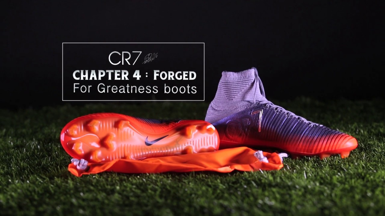 74768c5fc Ari Unveiling : NIKE MERCURIAL CR7 CHAPTER 4 : FORGED FOR GREATNESS ...