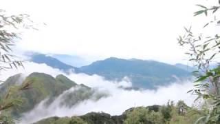 Biển mây đẹp huyền ảo trên đường Fansipan về nhà (Phan - xi - păng)