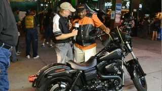 Harley Davidson FXDB Seen at Street Vibrations Sons Of Anarchy Kurt Sutter Product News