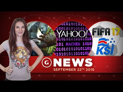 500+ Million Yahoo Accounts Hacked & Iceland Not In FIFA 17! - GS Daily News