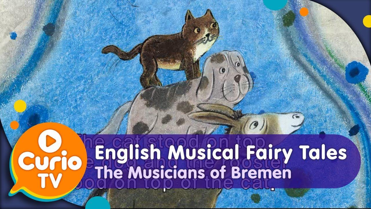 아들과딸북클럽 | The Musicians of Bremen(브레멘 음악대) - English Musical Fairy Tales [Kids TV OZ]
