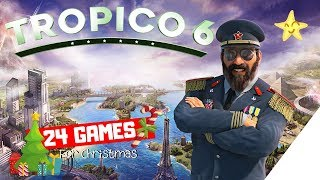 TROPISCHE TOURISTEN INSEL ! [24 Games for Christmas] TROPICO 6 [PS4][German]