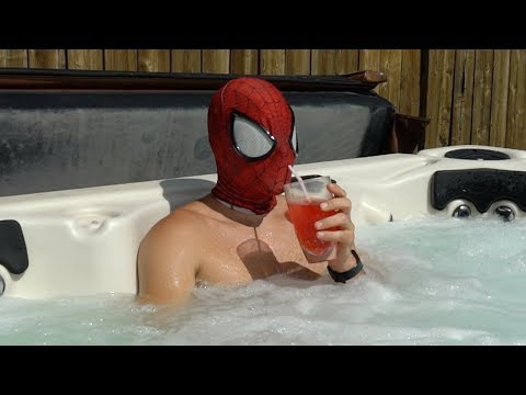 Spiderman In Real Life : Vacation Time