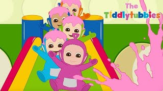 Teletubbies ★ NYT Tiddlytubbies ★ Tubby Custard pool