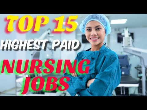 TOP 15 NURSING JOBS IN USA | REGISTERED NURSE | FILIPINO NURSE | HIGHEST PAID NURSES IN USA