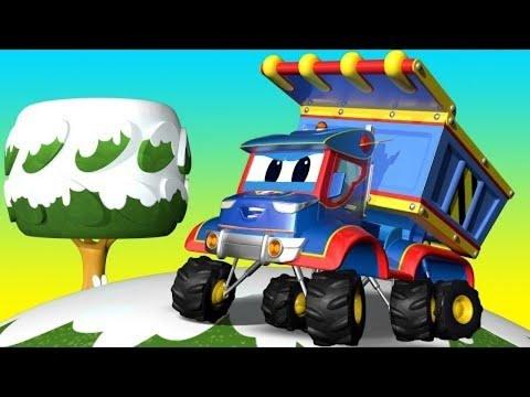 Phim hoạt hình về xe tải dành cho thiếu nhi -  GIÁNG SINH : MƯA QUÀ trên phố ! - Thành phố xe hơi