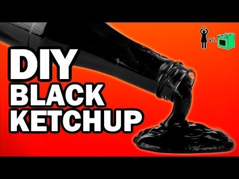 DIY Black Ketchup, Corinne VS Cooking #11