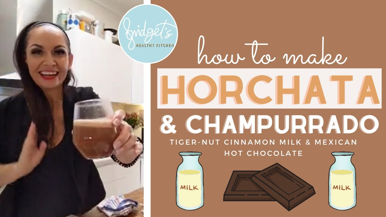 How To Make Horchata + Mexican Hot Chocolate || Horchata & Champurrado