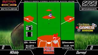 2018 Southern-Fried Gaming Expo - RBI Baseball (NES) - Group Stage - nDiddy vs Durreyl
