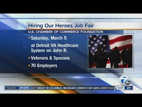 Workers Wanted: Hiring Our Heroes Job Fair