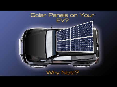This Solar Powered Electric Car Idea is Epic: But Here's Why