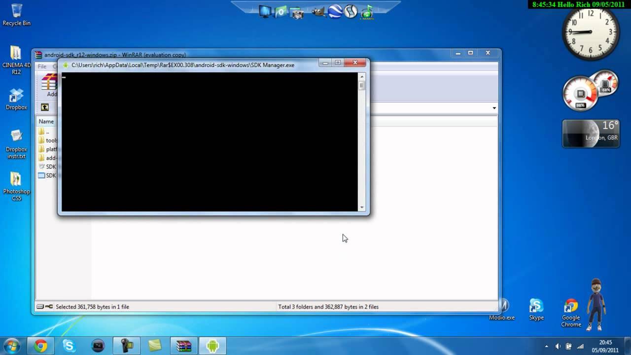 android-sdk_r16-windows.zip download