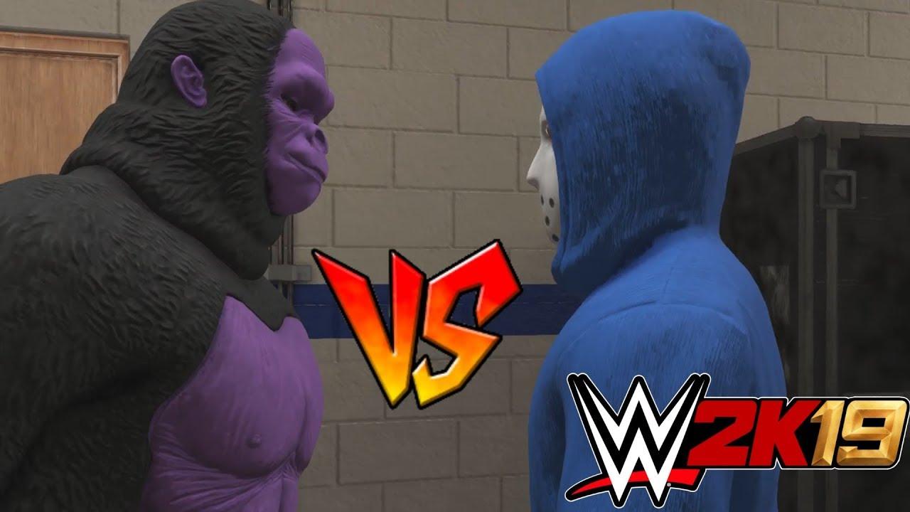 GORILLAPHENT vs h2Odelirious   WWE 2K19   w/ h2Odelirious
