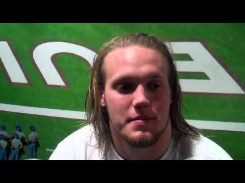 Dillon Day Post-Practice Interview - 10/30/12