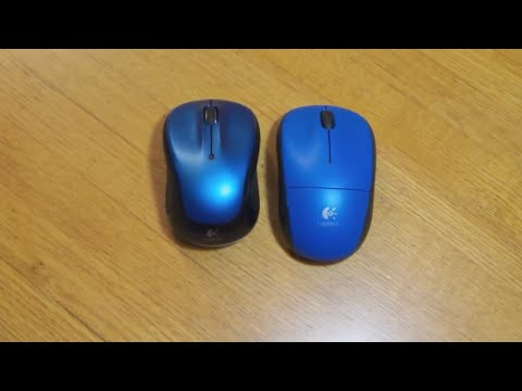 Comparison of the Logitech M325 and M215 Mice