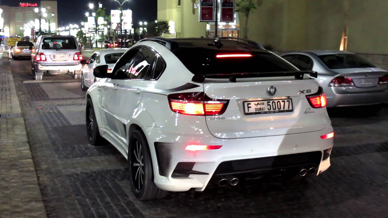 Lumma Clr X 650 Bmw X6 White Dubai Marina Youtube