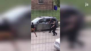 Kenosha police shoot man; video of incident appears to show officer firing shots into his back