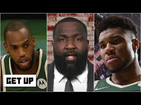 'It's about damn time!' - Kendrick Perkins on Giannis & Khris Middleton in Game 3 vs. Nets   Get Up