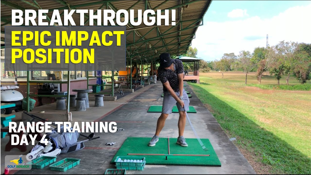 BREAKTHROUGH Impact Position Achieved - My Hack to Keep My Head Back - Range Session Day 4