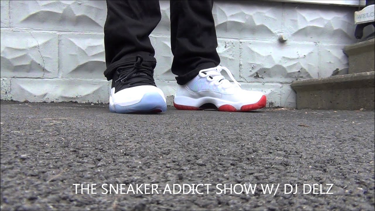 more photos 71a6c dc2b5 Air Jordan 11 Low Cherry Or Tuxedo XI Shoes  PickOne Battle W   DjDelz The  Sneaker Addict