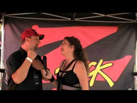 Shell Chat's With Bryan Fox From Z Rock 106.7 At AFTERSHOCK!