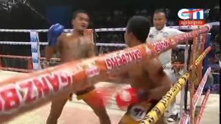 Khmer Boxing, Nov Sitha Vs Lao, CTN Boxing, 12 September 2015