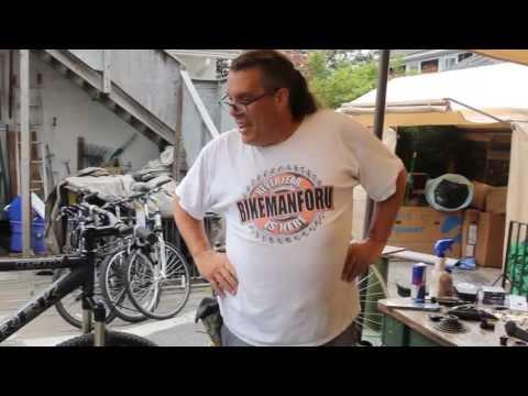 RockShox Reba DIY Fix  - Shock Spring - Trek 8500 ATB - BikemanforU Repair
