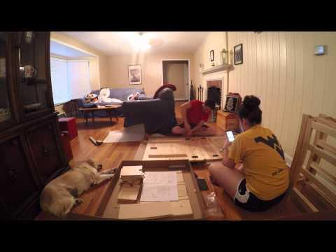 ikea norden table assembly tutorial doovi. Black Bedroom Furniture Sets. Home Design Ideas