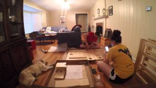 First Published Gopro Video- Ikea Table Assembly (the Norden)- Gopro Hero 4 Black