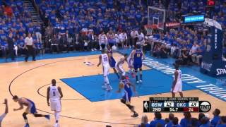 Warriors vs Thunder WCF Game 6 Full Highlights