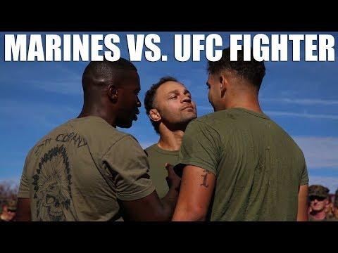 Marines vs. UFC Fighter