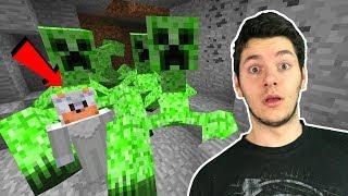 JESTEM UWIĘZIONY W JAMIE MUTANTÓW CREEPERÓW! Minecraft Tritsus & Dealer